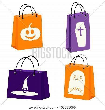 Halloween Shopping Bags