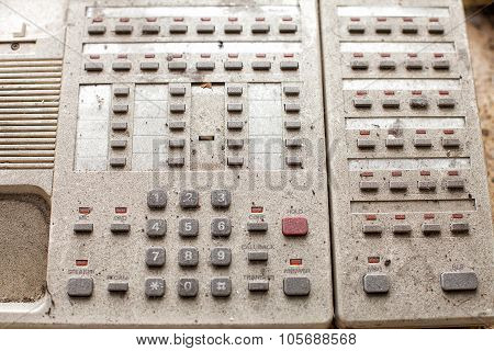 Old Switchboard Telephone