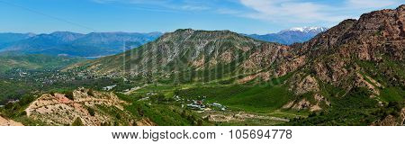 Panoramic View Of The Smaller Chimgan
