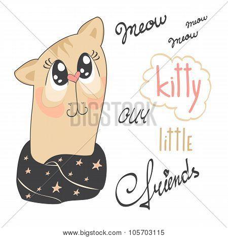 Funny kitty