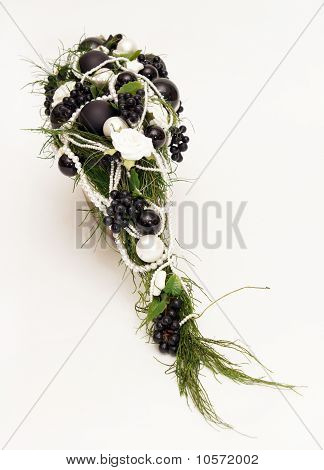 Black Silver Decoration