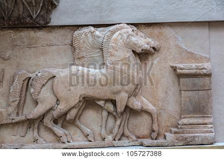 Ancient Ornament In Delphi