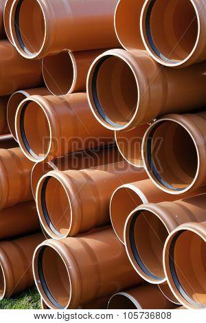 Construction Equipment - Plastic Pipes