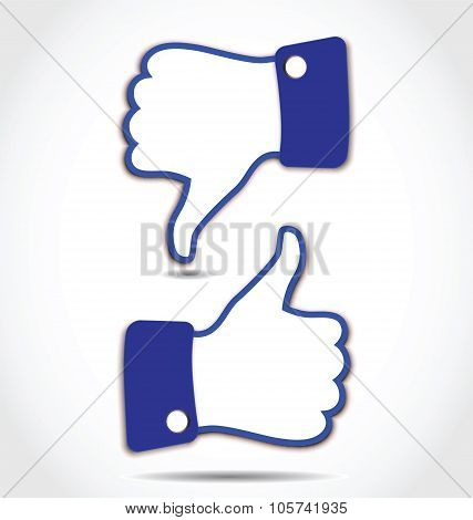 Like And Unlike, Thumps Up And Thumps Down