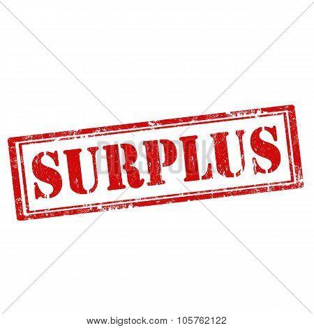 Surplus-stamp