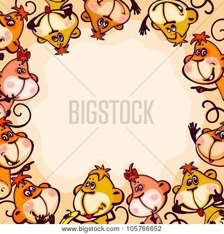 frame chinese zodiac 2016