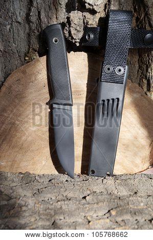 Knife The Hunting Black