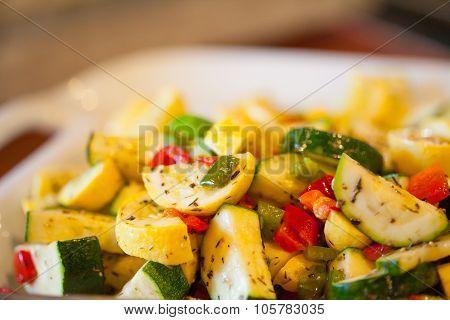 Herbed Vegetable Plate