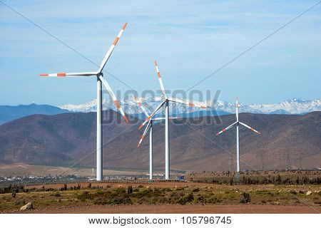 Wind Farm, Northern Chile