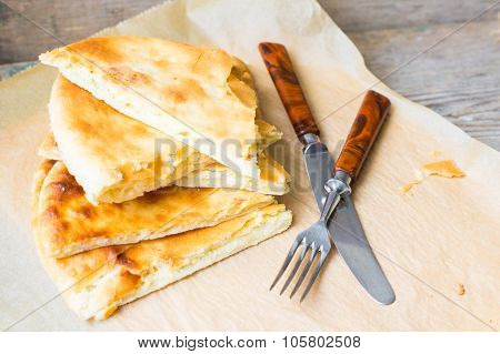 Traditional Georgian Dish - Khachapuri