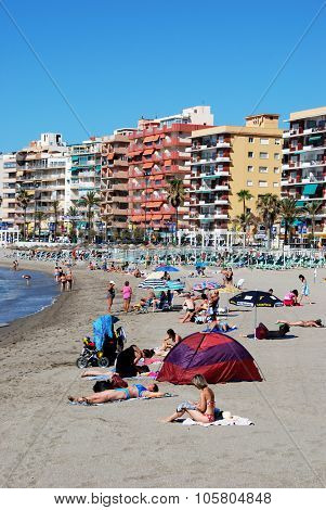 Fuengirola beach, Spain.