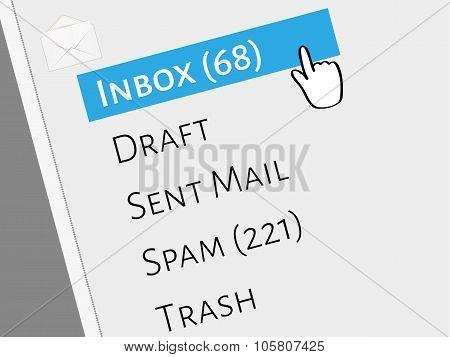 Mail Box Menu