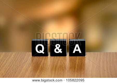 Q&A Or Questions And Answers On Black Blocks