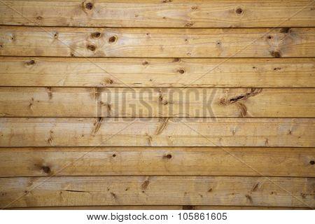 Hotizontal Brown Old Wood Texture