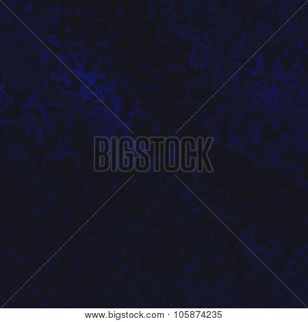 Blue Flux Effect On Black Background