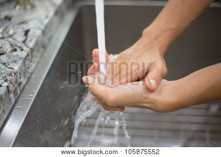 Sanitary Hand Cleaning
