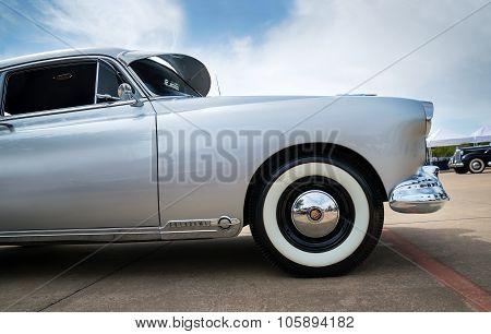 Silver 1949 Oldsmobile Futuramic 88 Fastback Classic Car