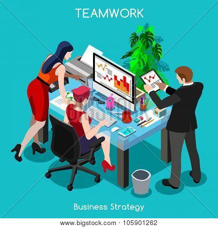 Business 04 People Isometric