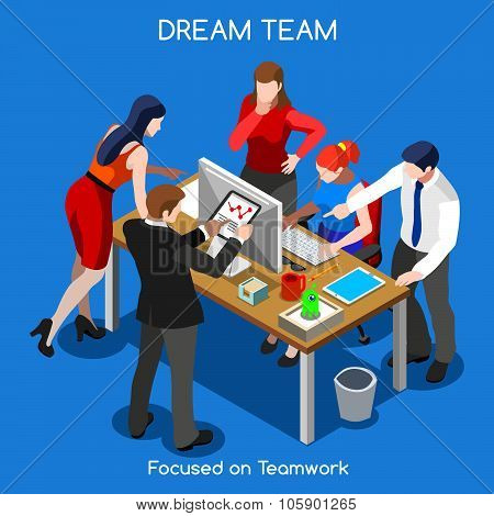 Business 05 People Isometric