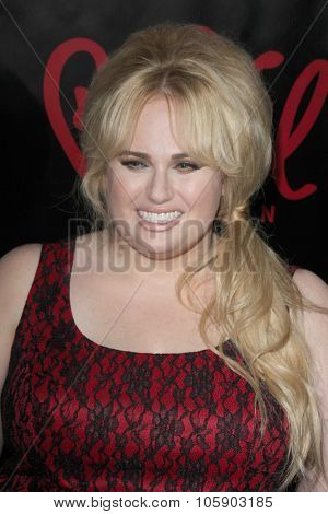 LOS ANGELES - OCT 22:  Rebel WIlson at the Rebel Wilson for Torrid Launch Party at the Milk Studios on October 22, 2015 in Los Angeles, CA