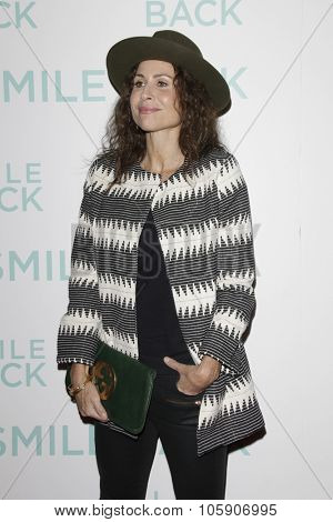 LOS ANGELES - OCT 21:  Minnie Driver at the
