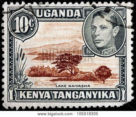 Lake Naivasha Stamp