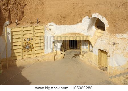 Tunisia, Africa - August 03, 2012: Scenery For The Film