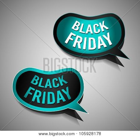 Black Friday Super Sale promotional Stick banners for your flyer, marketing posters, promotional materials and printed flyers poster