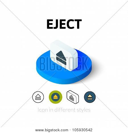 Eject icon in different style
