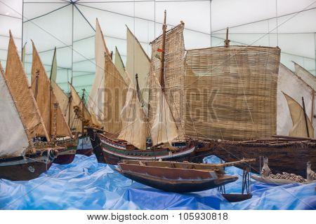 Models Of Foods Transport Ships