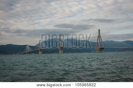 Rio-antirio Bridge , Greece