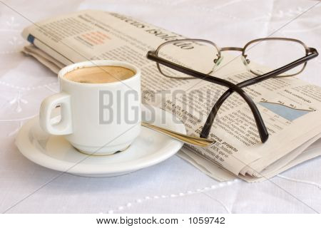 Coffee And Glasses