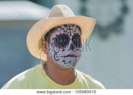 Man With Sugar Skull