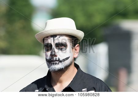 Man With Sugar Skull