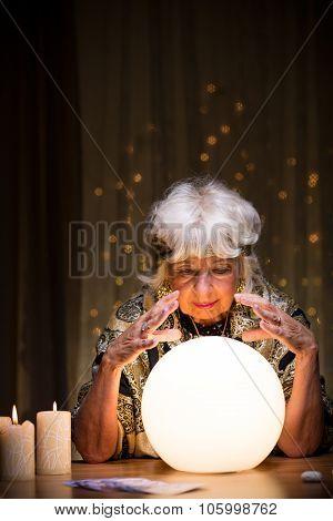 Magic Woman Telling Future