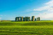 Iconic Stonehenge Prehistoric Monument in England UK. Stonehenge Vista. poster