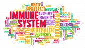 Immune System of a Good and Healthy Human Body poster