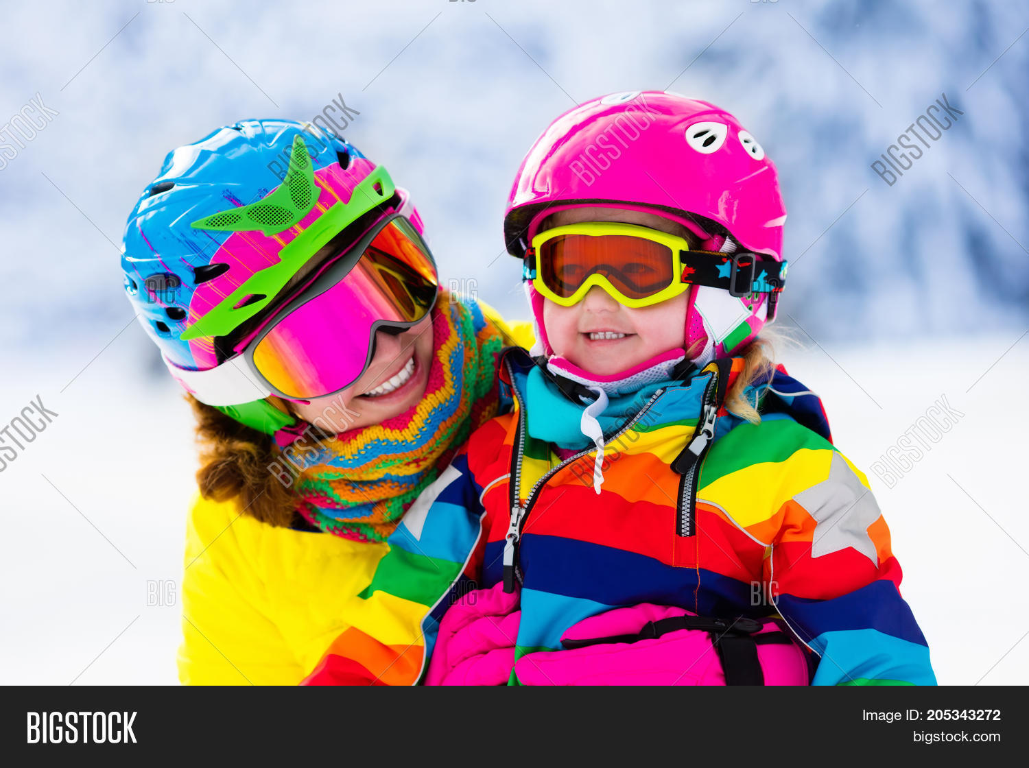 f489cdd84140 Family Ski Vacation. Image   Photo (Free Trial)