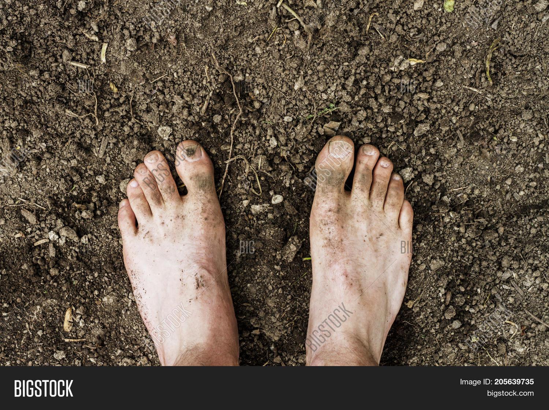 Dirty Gardener Feet Image & Photo (Free Trial) | Bigstock
