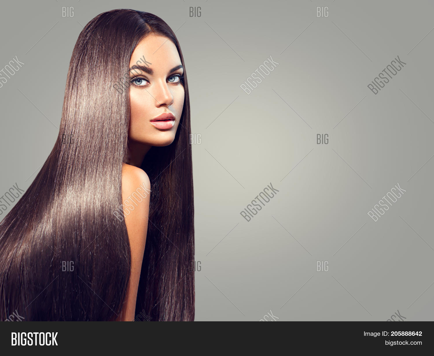 Beautiful Long Hair Image Photo Free Trial Bigstock