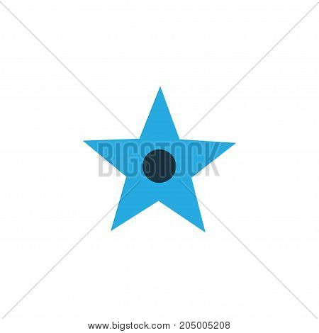 Premium Quality Isolated Star Element In Trendy Style.  Favorite Colorful Icon Symbol.
