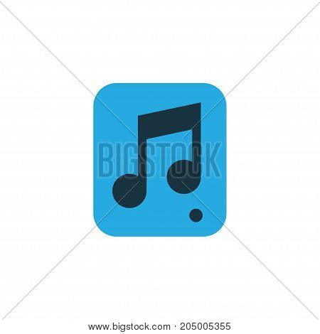 Premium Quality Isolated File Element In Trendy Style.  Multimedia Colorful Icon Symbol.