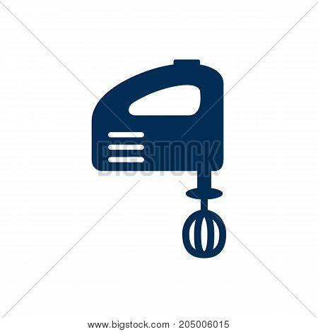 Isolated Hand Mixer Icon Symbol On Clean Background