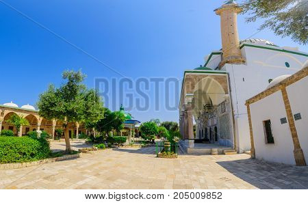 El-jazzar Mosque (the White Mosque) In Acre (akko)