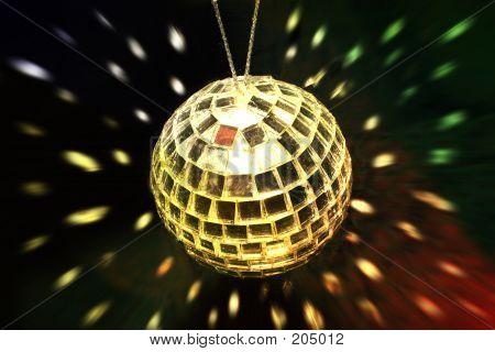 Disco Ball And Lights