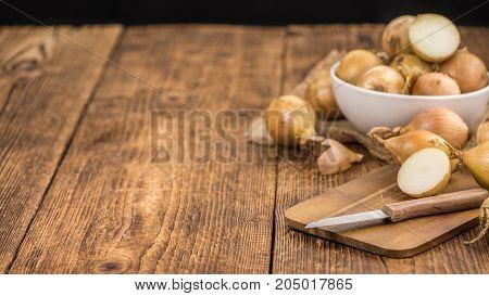 White Onions, Selective Focus