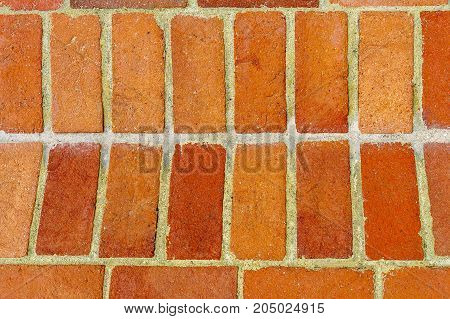 Red brick masonry cement exterior background textures