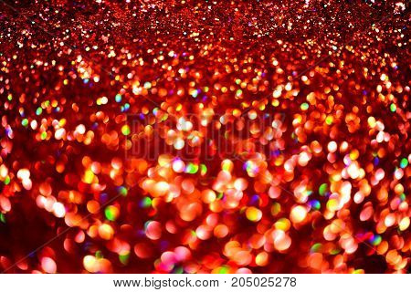 golden glitter texture Colorfull Blurred abstract background for birthday anniversary wedding new year eve or Christmas.