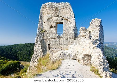 ruins of Cachtice Castle, Slovakia