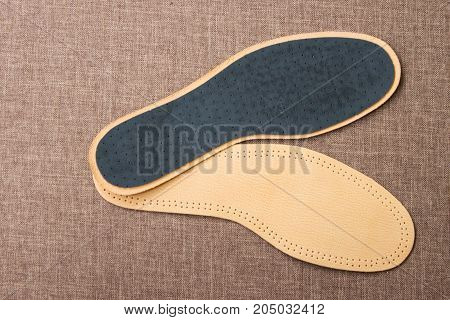 Leather Shoe Insoles. For Sport, Fitness, Everyday Life.